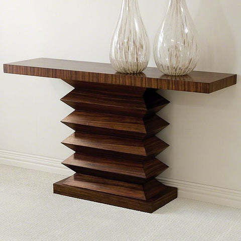 Global Views Zig Zag Console Table - Global Views 2262 - Chachkies