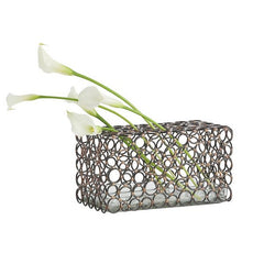 Arteriors Home Affleck Rectangle Vase - Chachkies