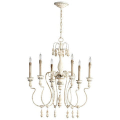 Cyan Design Chantal 6 Lt Chandelier - Cyan Design 05713 - Chachkies