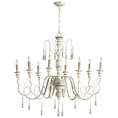 Cyan Design Chantal 8 Lt Chandelier - Cyan Design 05714 - Chachkies