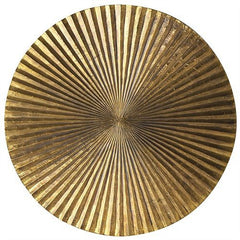Arteriors Home Apollo Metallic Gold Wall Plaque, Large - Chachkies