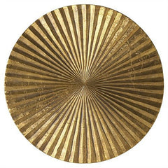 Arteriors Home Apollo Metallic Gold Wall Plaque, Medium - Chachkies