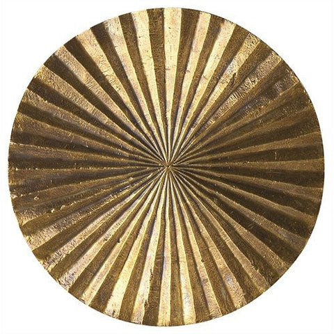 Arteriors Home Apollo Metallic Gold Wall Plaque, Small - Chachkies