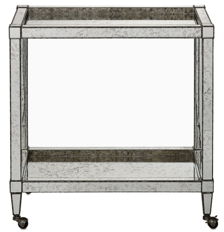 Currey Company Monarch Bar Cart