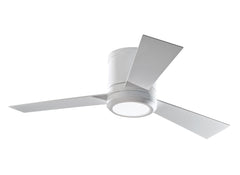"Monte Carlo 42"" Clarity II - Rubberized White Ceiling Fan - 3CLYR42RZWD"
