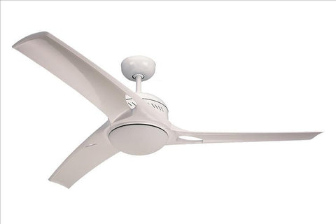 Montecarlo Mach One 52'' 3 Blade White ABS Ceiling Fan - 3MO52WHO-L - Chachkies