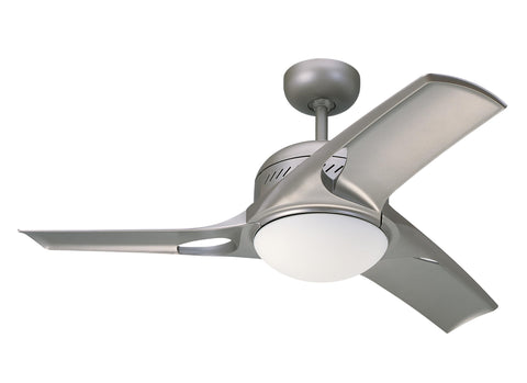Monte Carlo 38' Mach Two Fan - Titanium Ceiling Fan - 3MTR38TMO-L