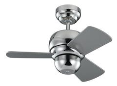 Monte Carlo 24' Micro 24 Fan - Polished Nickel Ceiling Fan - 3TF24PN