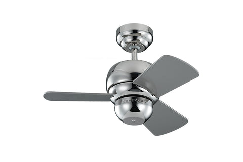 Monte Carlo 24' Micro 24 Fan - Polished Nickel - Ceiling Fan 3TF24PN - Chachkies