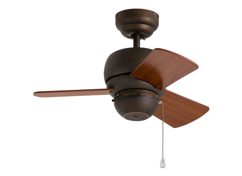 Monte Carlo 24' Micro 24 Fan - Roman Bronze Ceiling Fan - 3TF24RB