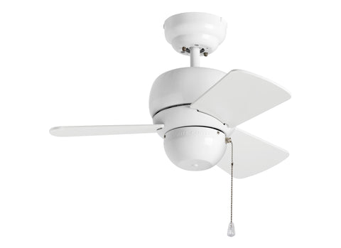 Monte Carlo 24' Micro 24 Fan - White Ceiling Fan - 3TF24WH
