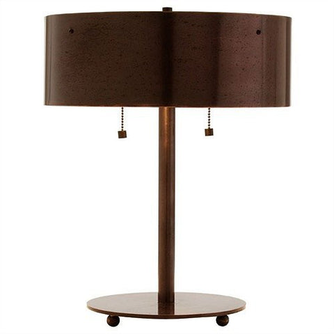 Arteriors Home Albert English Bronze Iron Desk Lamp - Chachkies