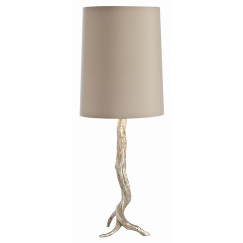 Arteriors Home Adler Silver Leaf Iron Table Lamp - Chachkies