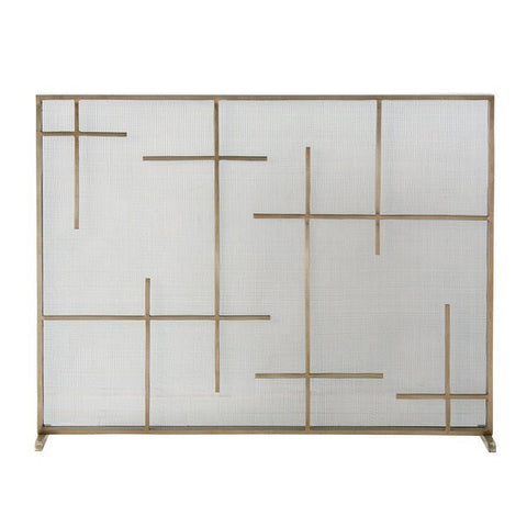 Arteriors Home Caleb Fire Screen - Chachkies