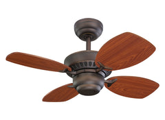 Monte Carlo 28' Colony II Fan - Roman Bronze Ceiling Fan - 4CO28RB