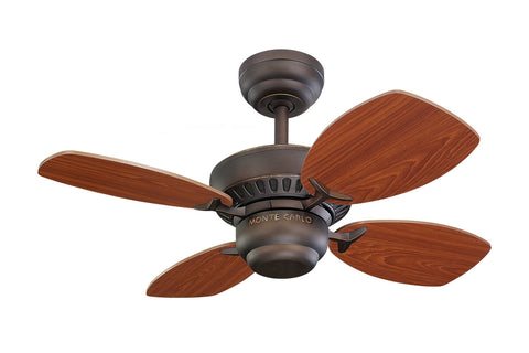 "Monte Carlo 28"" Colony II Fan - Roman Bronze - Ceiling Fan 4CO28RB - Chachkies"