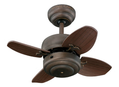 "Monte Carlo 20"" Mini 20 Fan - Roman Bronze Ceiling Fan - 4MC20RB"