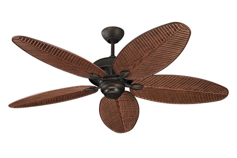 "Monte Carlo 52"" Cruise Outdoor Fan - Roman Bronze (Wet Rated) - Ceiling Fan 5CU52RB - Chachkies"