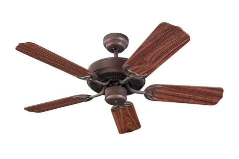 "Monte Carlo 42"" Homeowner's Select II Fan - Roman Bronze - Ceiling Fan 5HS42RB - Chachkies"