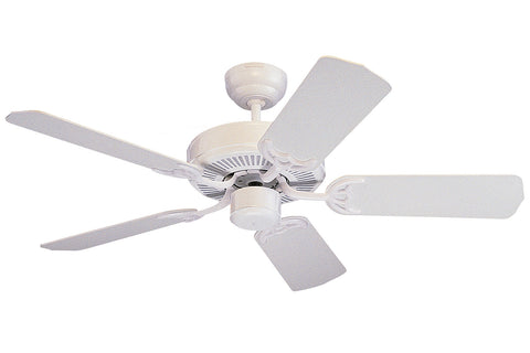 "Monte Carlo 42"" Homeowner's Select II Fan - White - Ceiling Fan 5HS42WH - Chachkies"