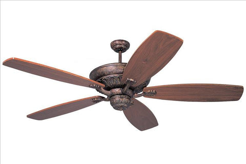Montecarlo St. Ives '' 5 Blade No Blades Ceiling Fan - 5SITB - Chachkies
