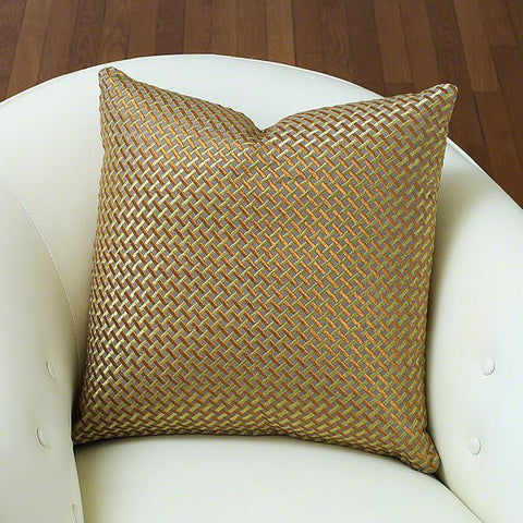 Global Views Glamour Weave Pillow - Global Views 9-92020 - Chachkies