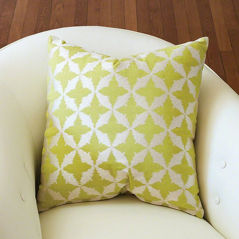 Global Views Solitaire Pillow-Green - Global Views 9-92023 - Chachkies