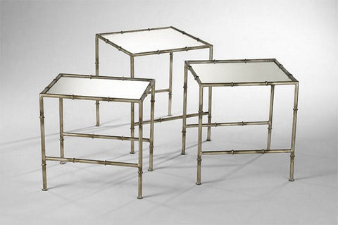 Cyan Design Bamboo Nesting Tables, Set/3 - Cyan Design 03068 - Chachkies