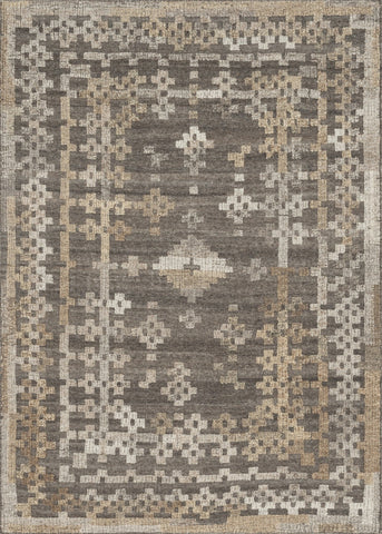 "Loloi Rugs - Akina - 3'-6"" X 5'-6"" - Charcoal / Taupe - Chachkies"