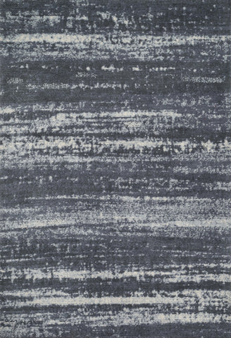 "Loloi Rugs - Discover - 7'-6"" X 9'-6"" - Charcoal - Chachkies"