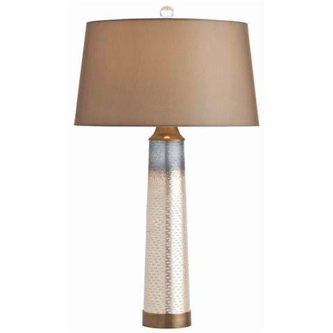 Arteriors Home Bilbao Fishtail Mercury Glass Lamp - Chachkies
