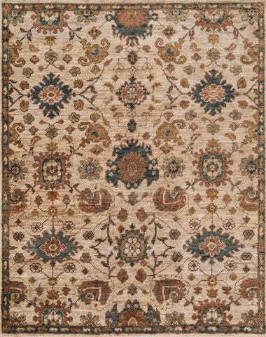 "Loloi Rugs - Empress - 7'-9"" X 9'-9"" - Beige / Multi - Chachkies"