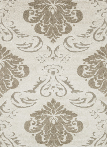 "Loloi Rugs - Enchant - 7'-7"" X 7'-7"" Square - Ivory / Beige - Chachkies"