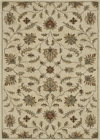 "Loloi Rugs - Fairfield - 7'-6"" X 9'-6"" - Ivory - Chachkies"