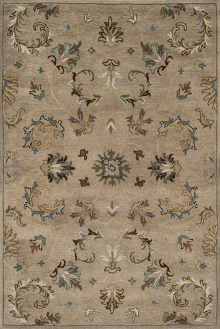 "Loloi Rugs - Fairfield - 7'-6"" X 9'-6"" - Camel / Moss - Chachkies"