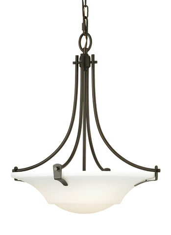 Feiss 3 Bulb Oil Rubbed Bronze Chandelier