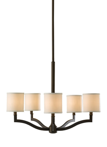 Feiss 5 Bulb Oil Rubbed Bronze Chandelier