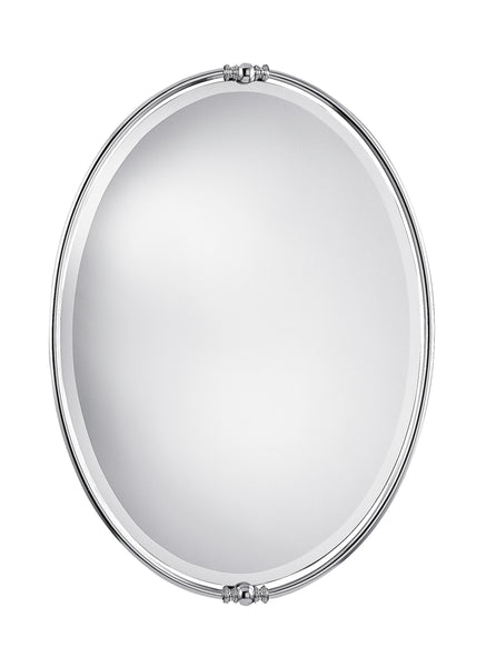 Feiss Polished Nickel Mirror