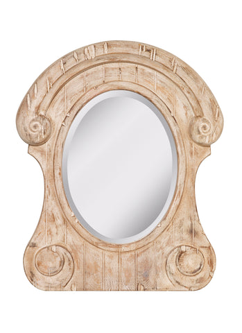 Feiss Distressed Ivory Mirror