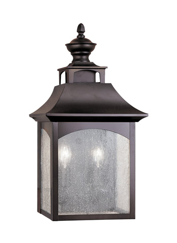 Feiss 2 Bulb Oil Rubbed Bronze Outdoor