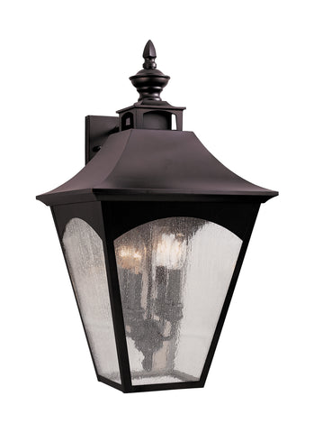 Feiss 4 Bulb Oil Rubbed Bronze Outdoor