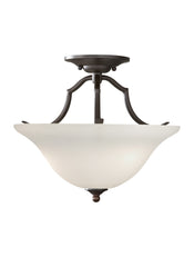 Feiss 2 Bulb Oil Rubbed Bronze Semi-Flush Fixture