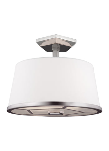 Feiss 2 - Light Semi-Flush