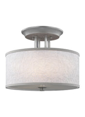 Feiss 3 - Light Semi-Flush