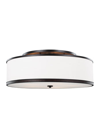 Feiss 5 - Light Indoor Semi-Flush Mount Oil Rubbed Bronze