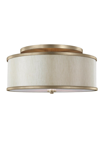 Feiss 3 - Light Semi-Flush Mount