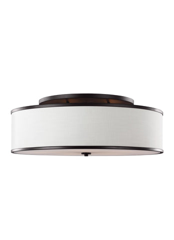Feiss 5 - Light Semi-Flush Mount