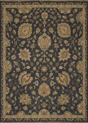 "Loloi Rugs - Laurent - 5'-6"" X 8'-6"" - Charcoal - Chachkies"