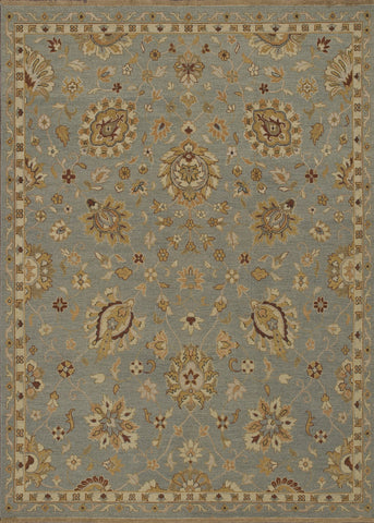 "Loloi Rugs - Laurent - 8'-6"" X 11'-6"" - Sterling Blue - Chachkies"