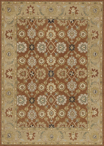 "Loloi Rugs - Laurent - 9'-6"" X 13'-6"" - Redwood / Moss - Chachkies"